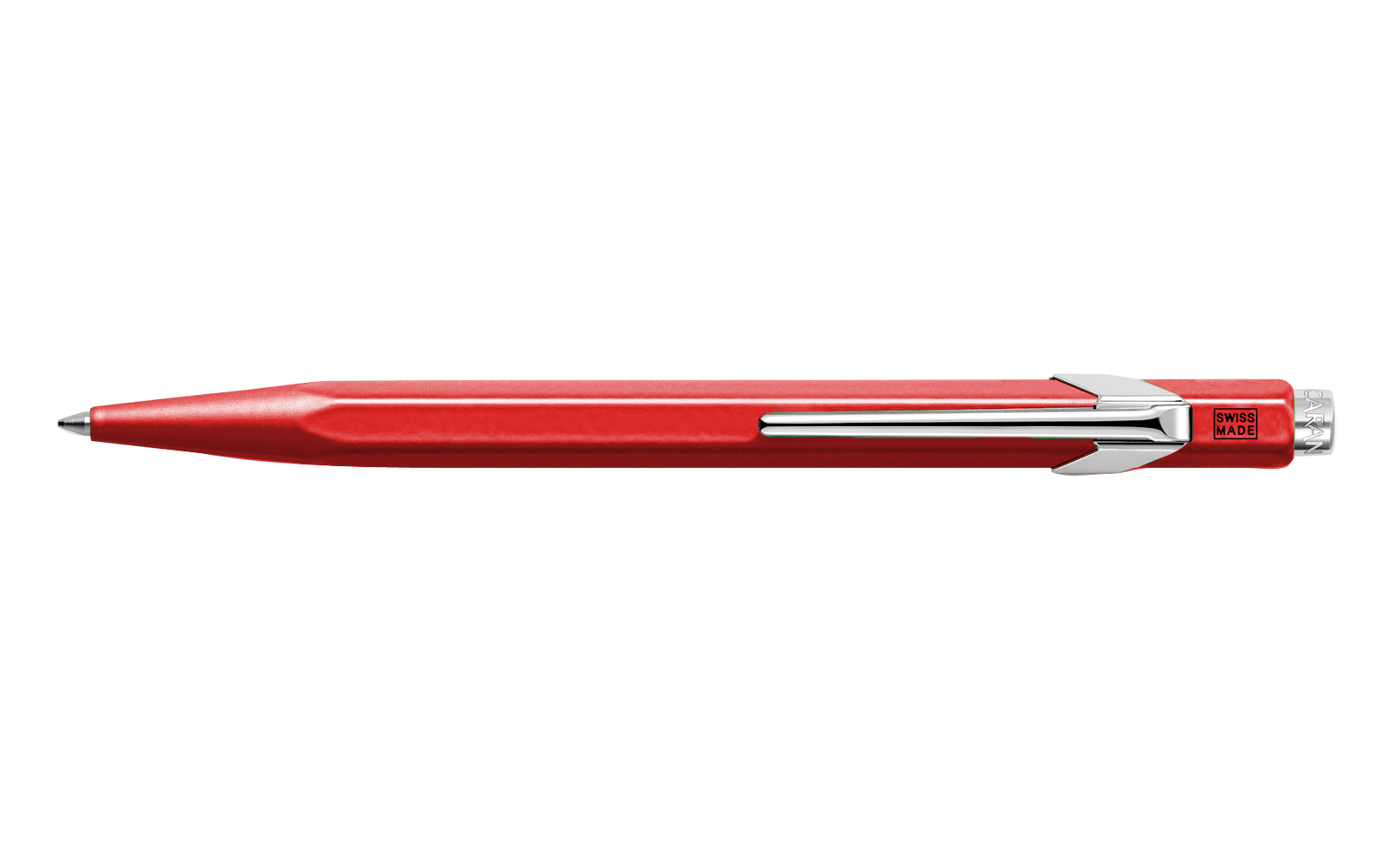 Caran D'ache Ballpoint Pen Metal Red