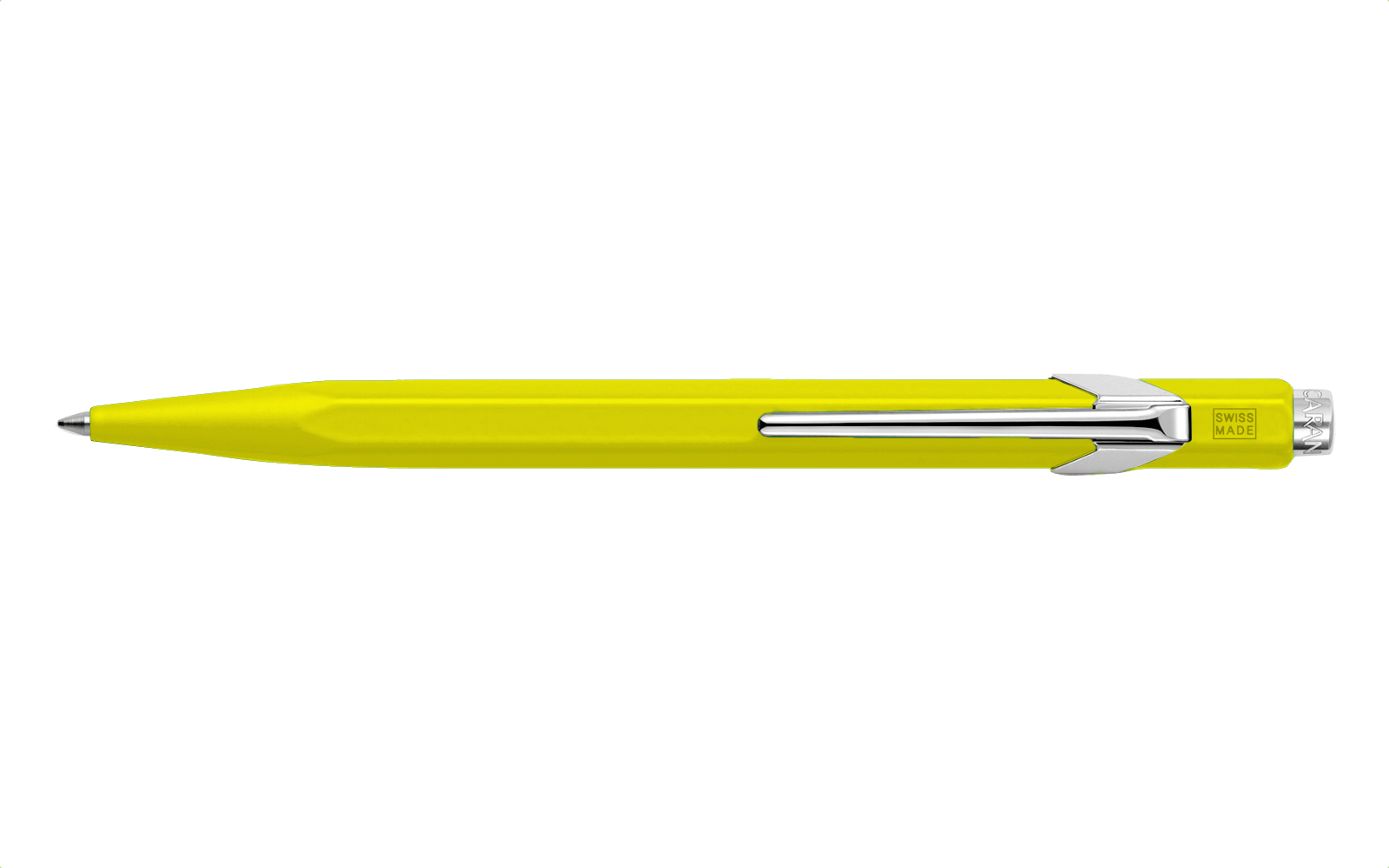 Caran D'ache Ballpoint Pen Metal Yellow