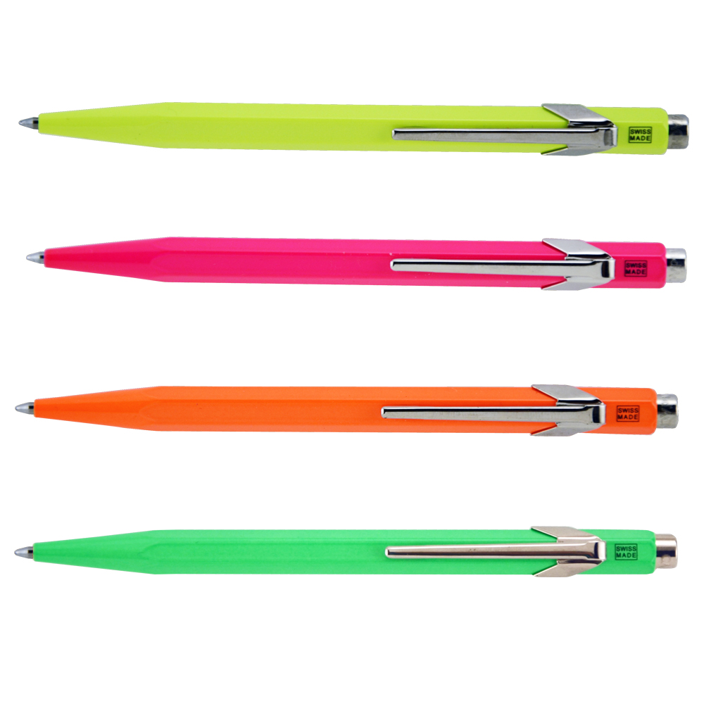 Caran D'ache Fluorescent Pen Set Of 4