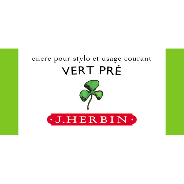 J. Herbin Fountain Pen Ink 30Ml Vert Pre