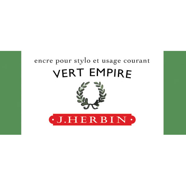 J. Herbin Fountain Pen Ink 30Ml Vert Empire