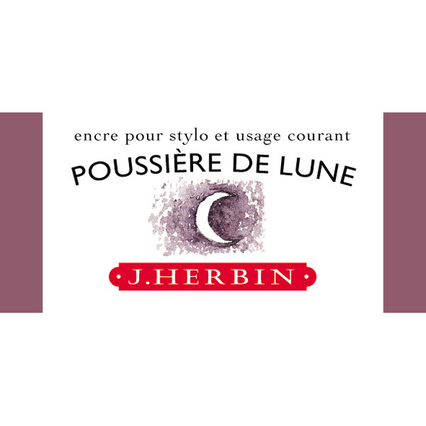 J. Herbin Fountn Pen Ink 30Ml Poussiere Lune
