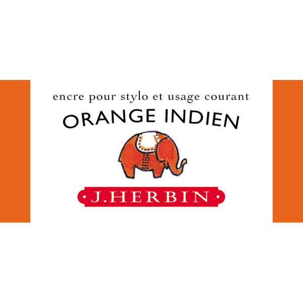 J. Herbin Fountain Pen Ink 30Ml Orange Indien