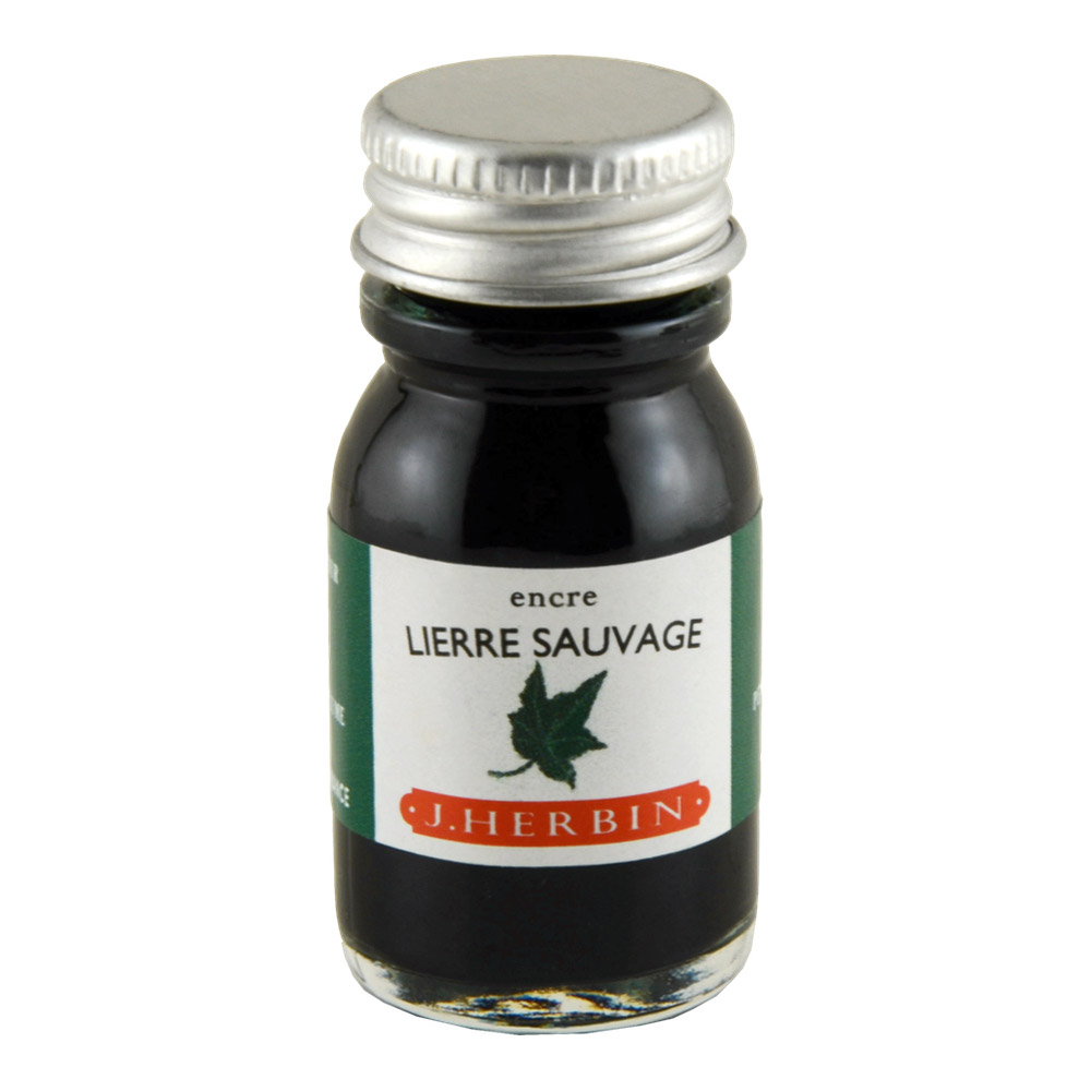 J. Herbin Fountn Pen Ink 10Ml Lierre Sauvage