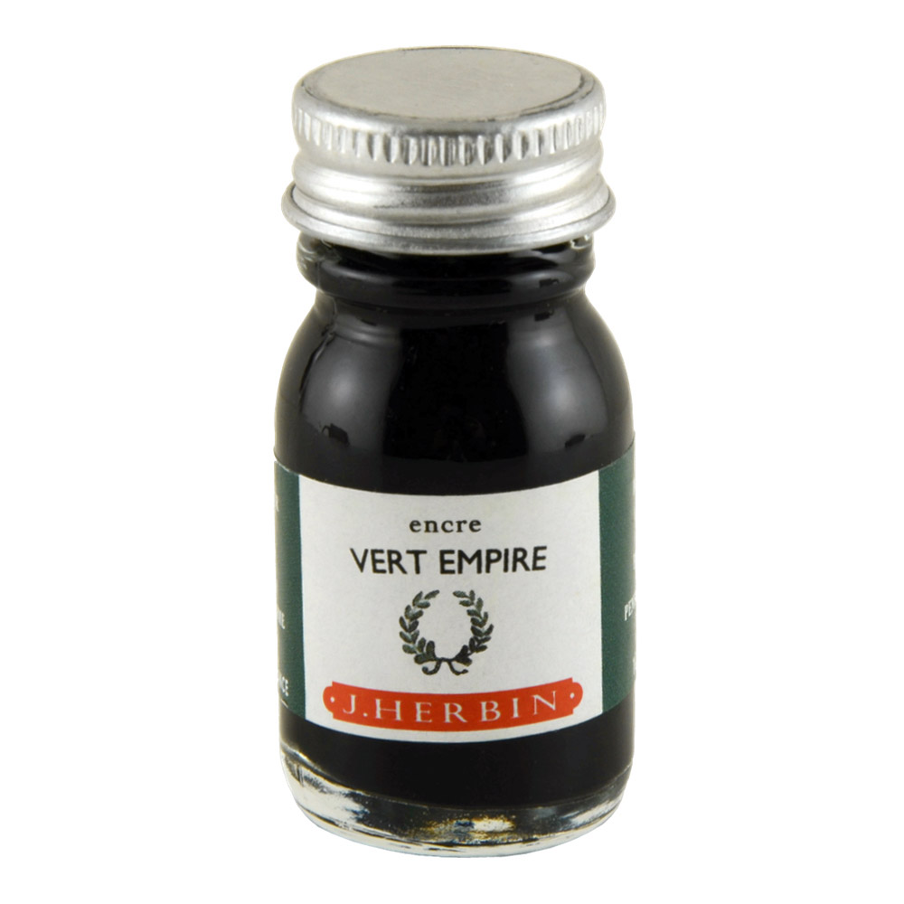 J. Herbin Fountain Pen Ink 10Ml Vert Empire