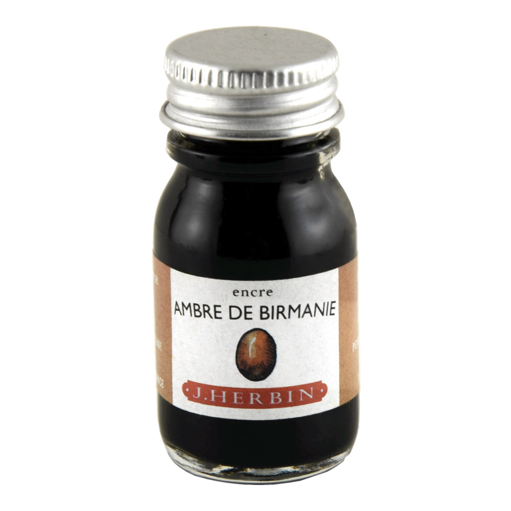 J. Herbin Fountn Pen Ink 10Ml Ambre Birmanie