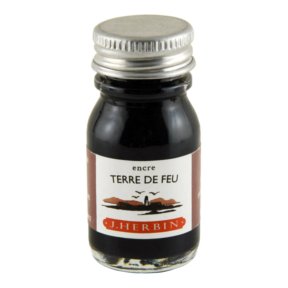 J. Herbin Fountain Pen Ink 10Ml Terre De Feu