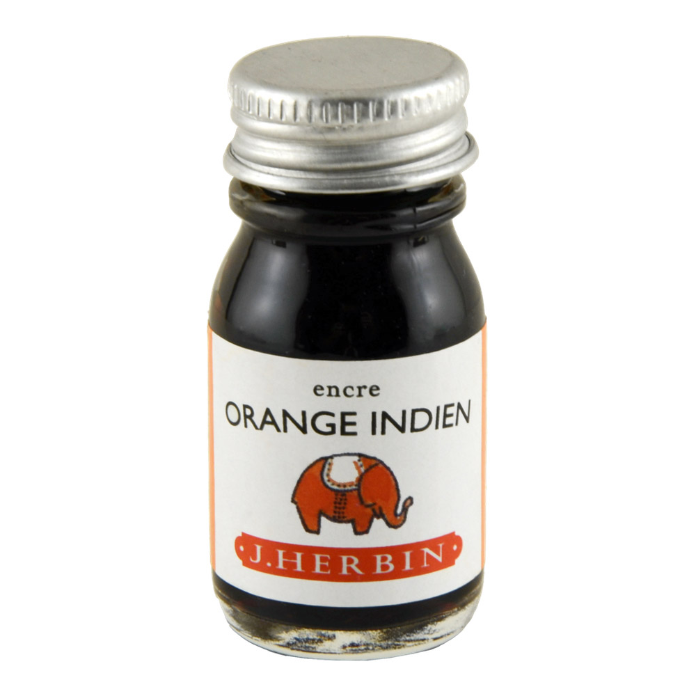 J. Herbin Fountain Pen Ink 10Ml Orange Indien
