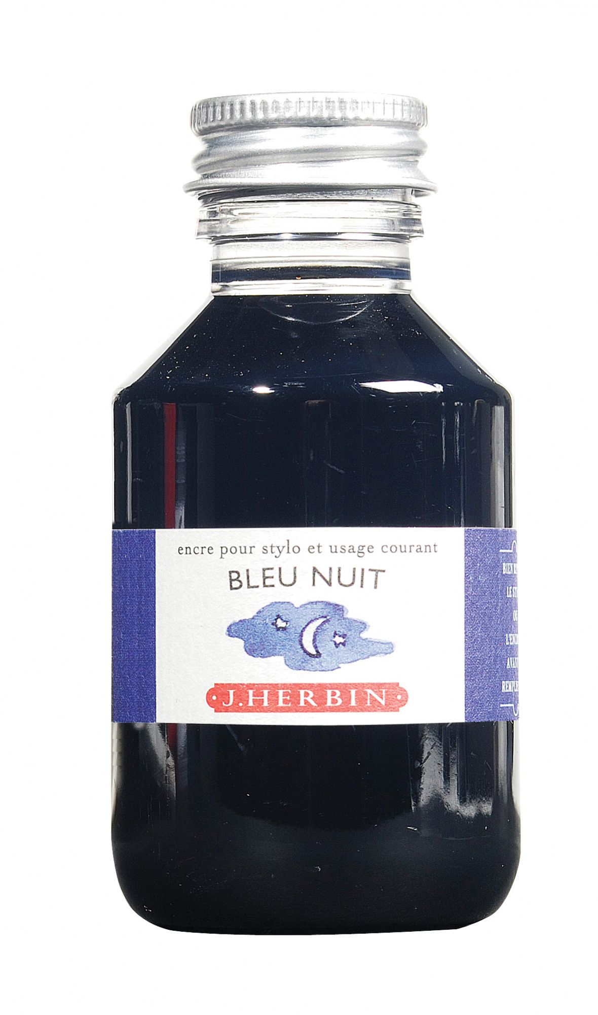 J. Herbin Fountain Pen Ink 100Ml Bleu Nuit