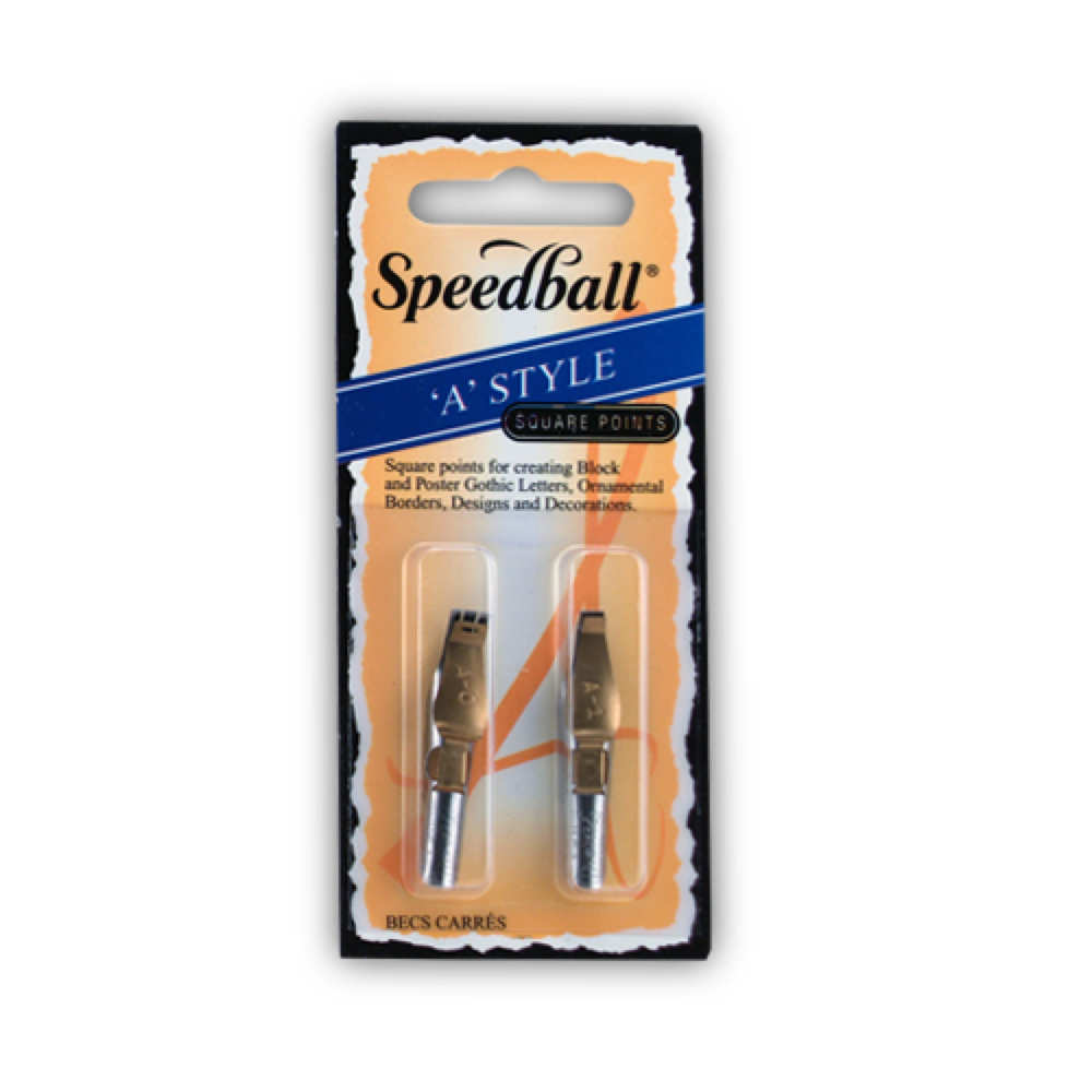 Speedball Pen Nibs A0 & A1