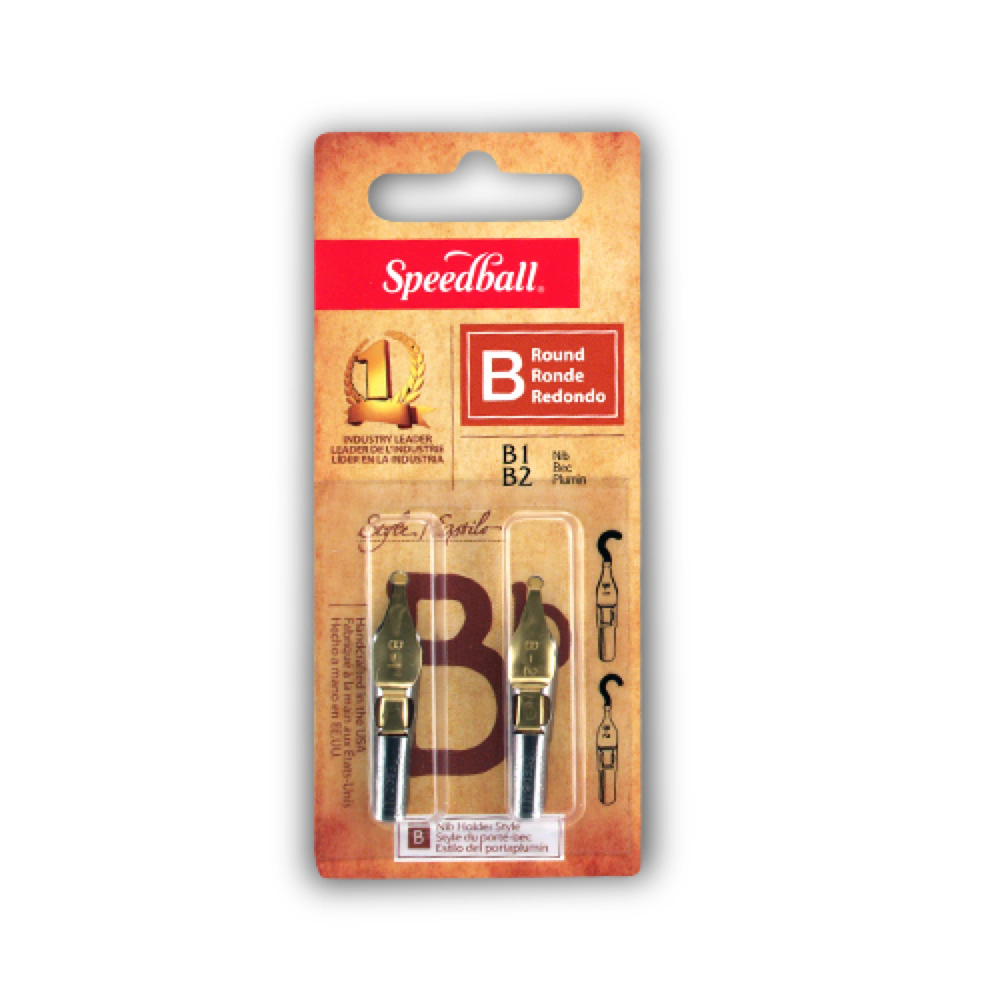 Speedball Pen Nibs B1 & B2