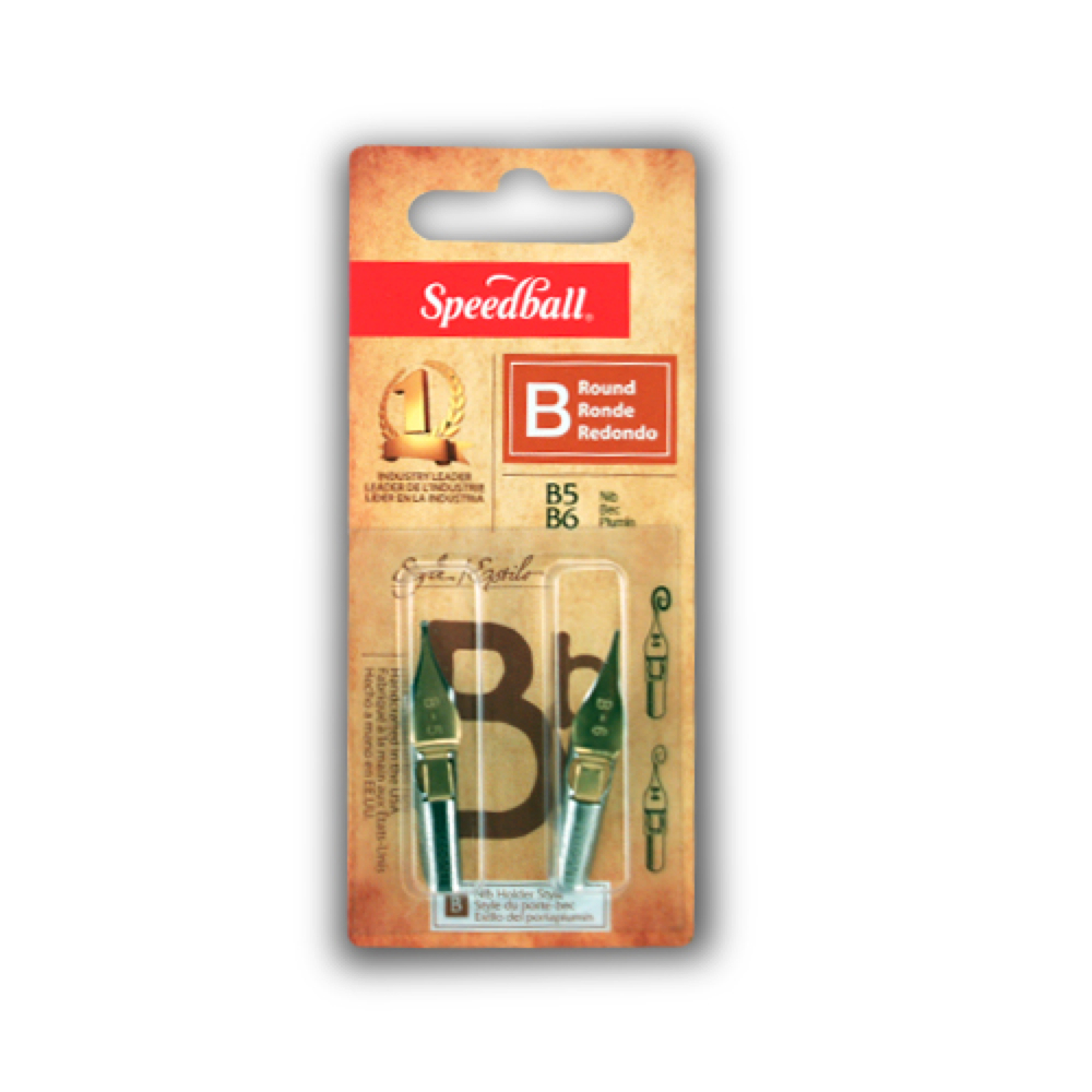 Speedball Pen Nibs B5 & B6