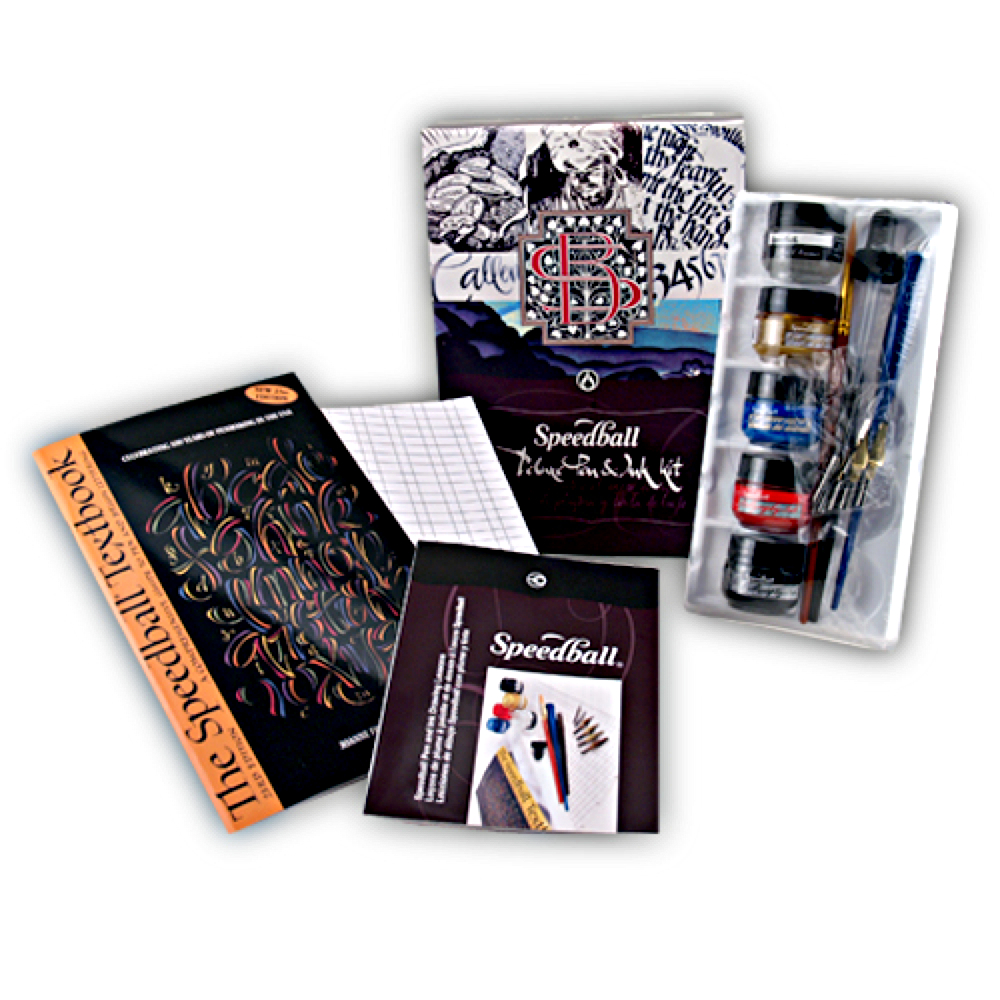 Speedball Deluxe Pen & Ink Kit