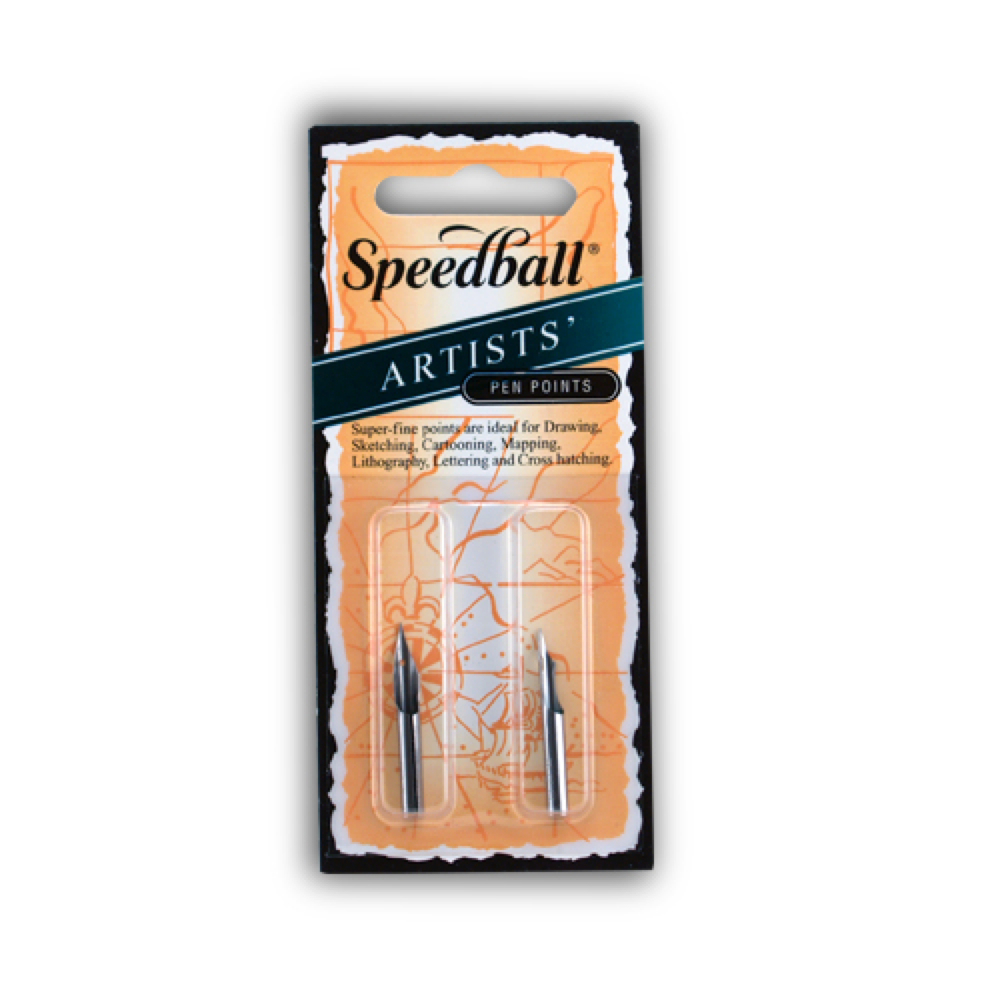 Speedball Artist Pen Points 102 & 107