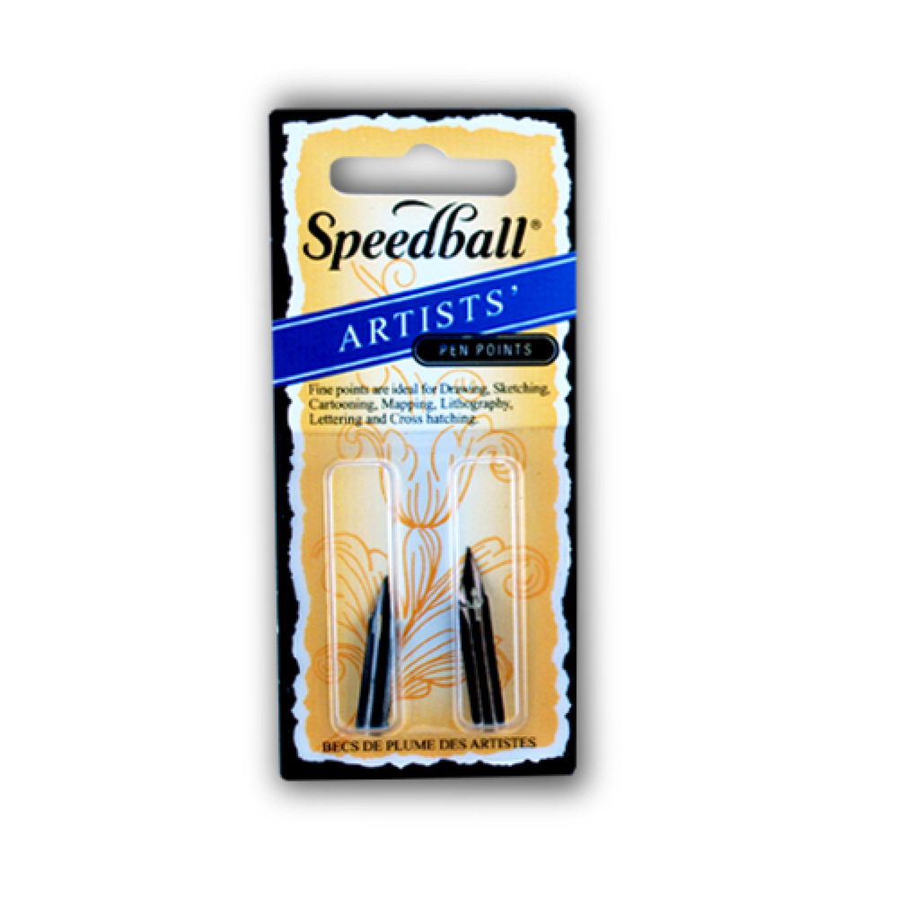 Speedball Artist Pen Points 99 & 101