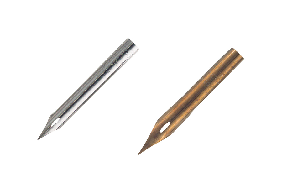 Hunt Artist Pen Points 102 & 108
