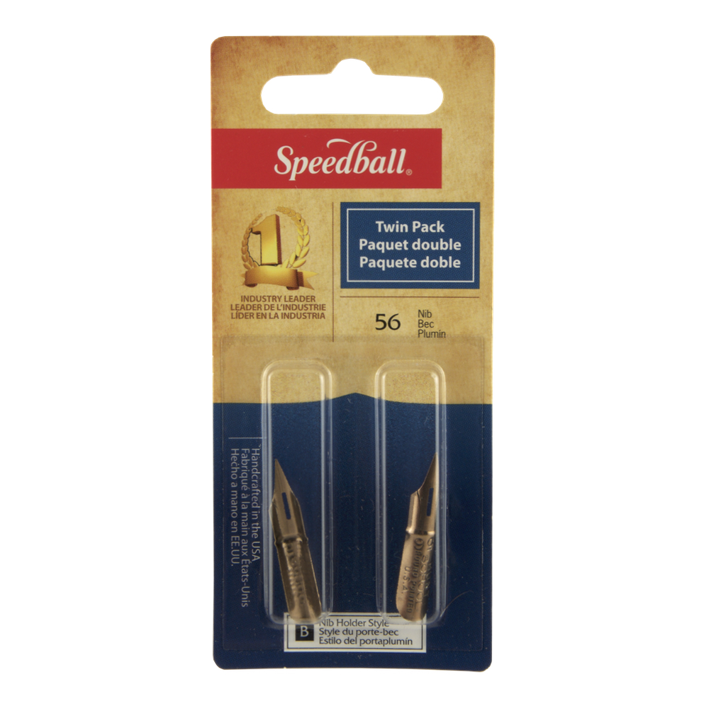 Speedball Artist Pen Point 56 2/Pk