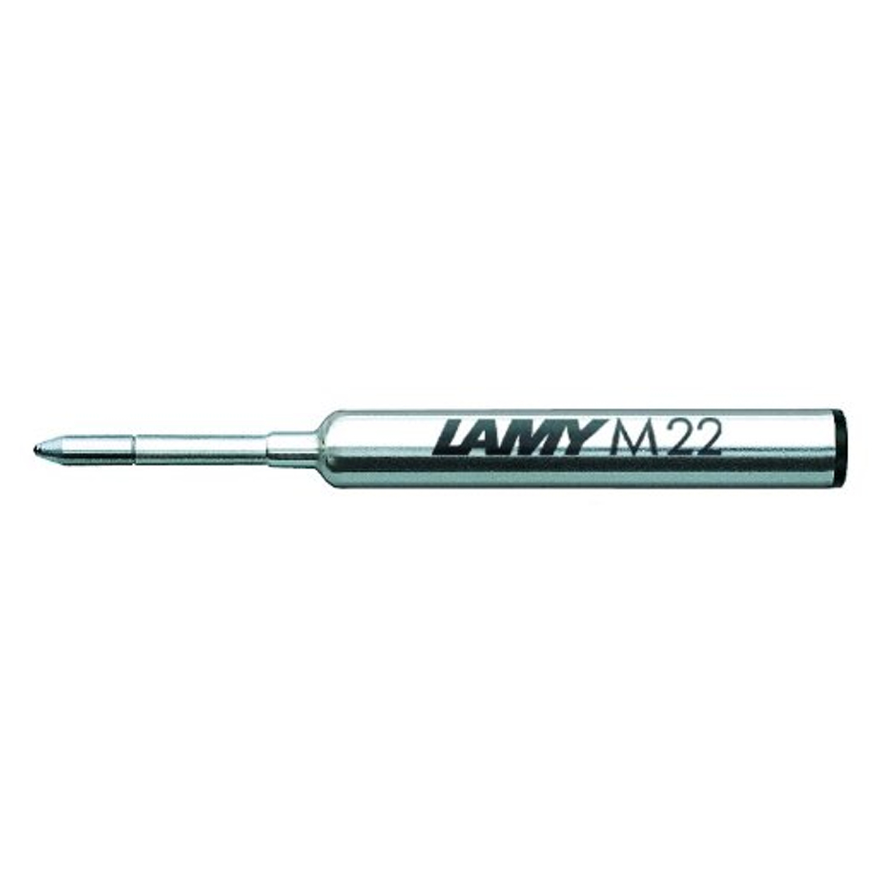 Lamy Ballpoint Refill M22 Black Medium