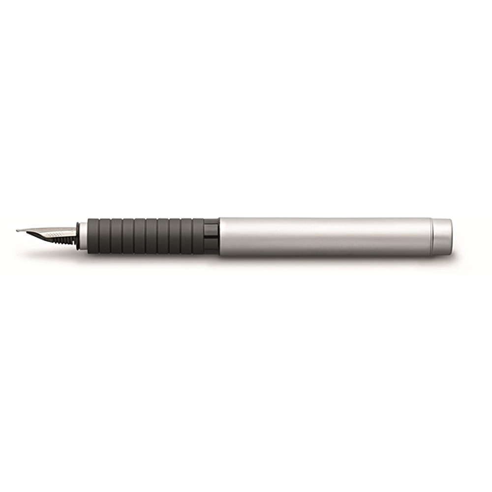 Faber-Castell Basic Metal Fnt Pen Chrome B