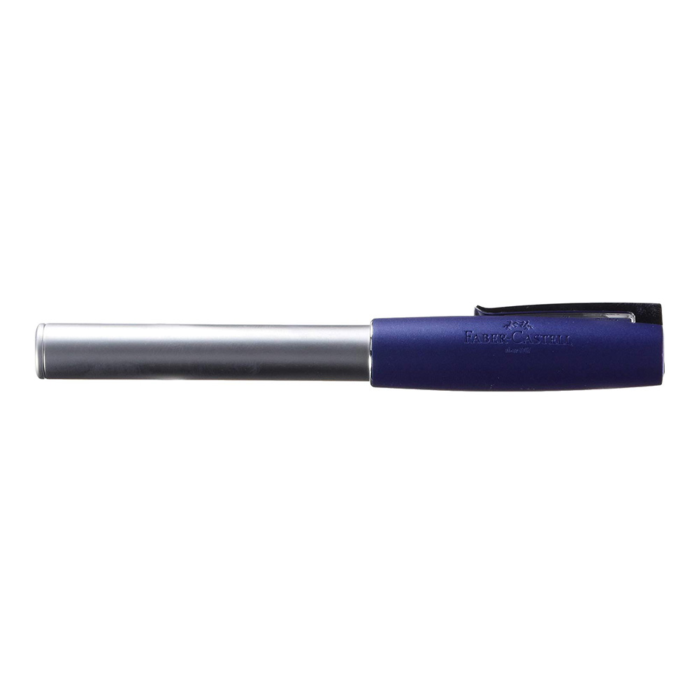 Faber-Castell Loom Metallic Blue Rollerball