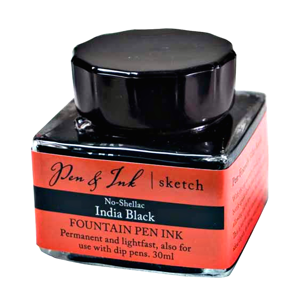 No-Shellac India Ink