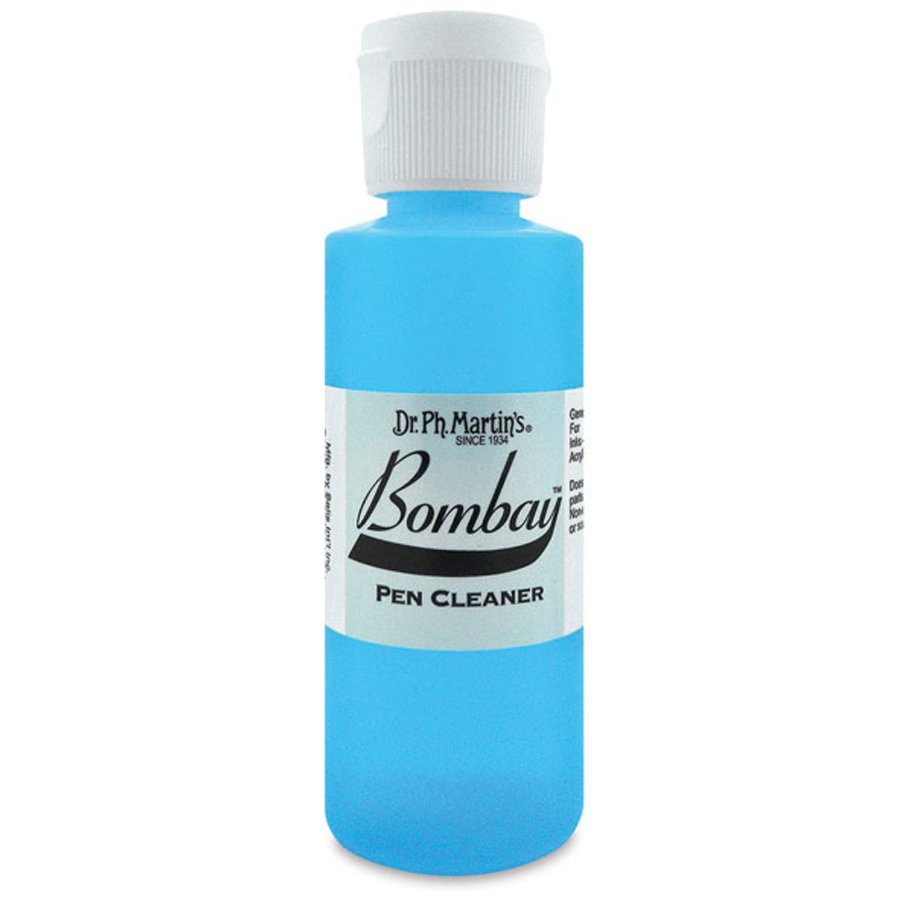Dr Martins Bombay Ink Pen Cleaner 2 Oz