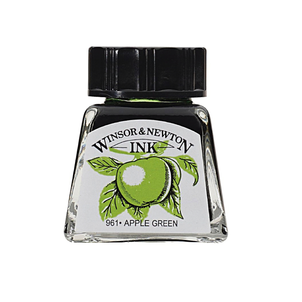 Winsor & Newton Ink 14Ml Apple Green