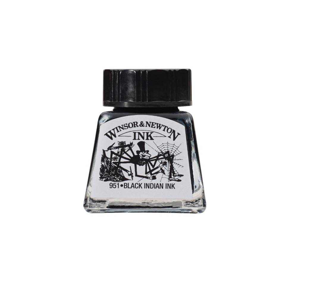 Winsor & Newton Ink 14Ml Indian Black