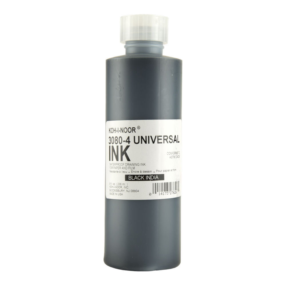 Rapidograph Black Drawing Ink 3080 8 Oz
