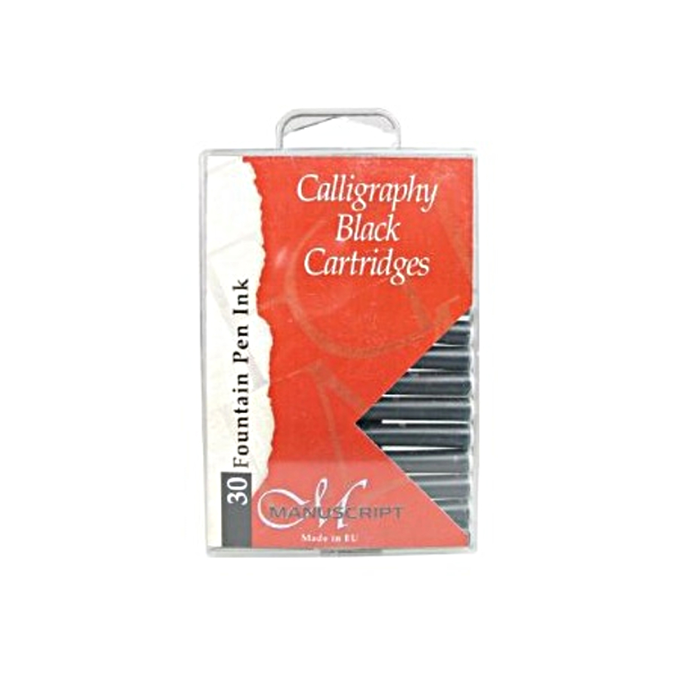 Manuscript 30 Ink Cartridges Black
