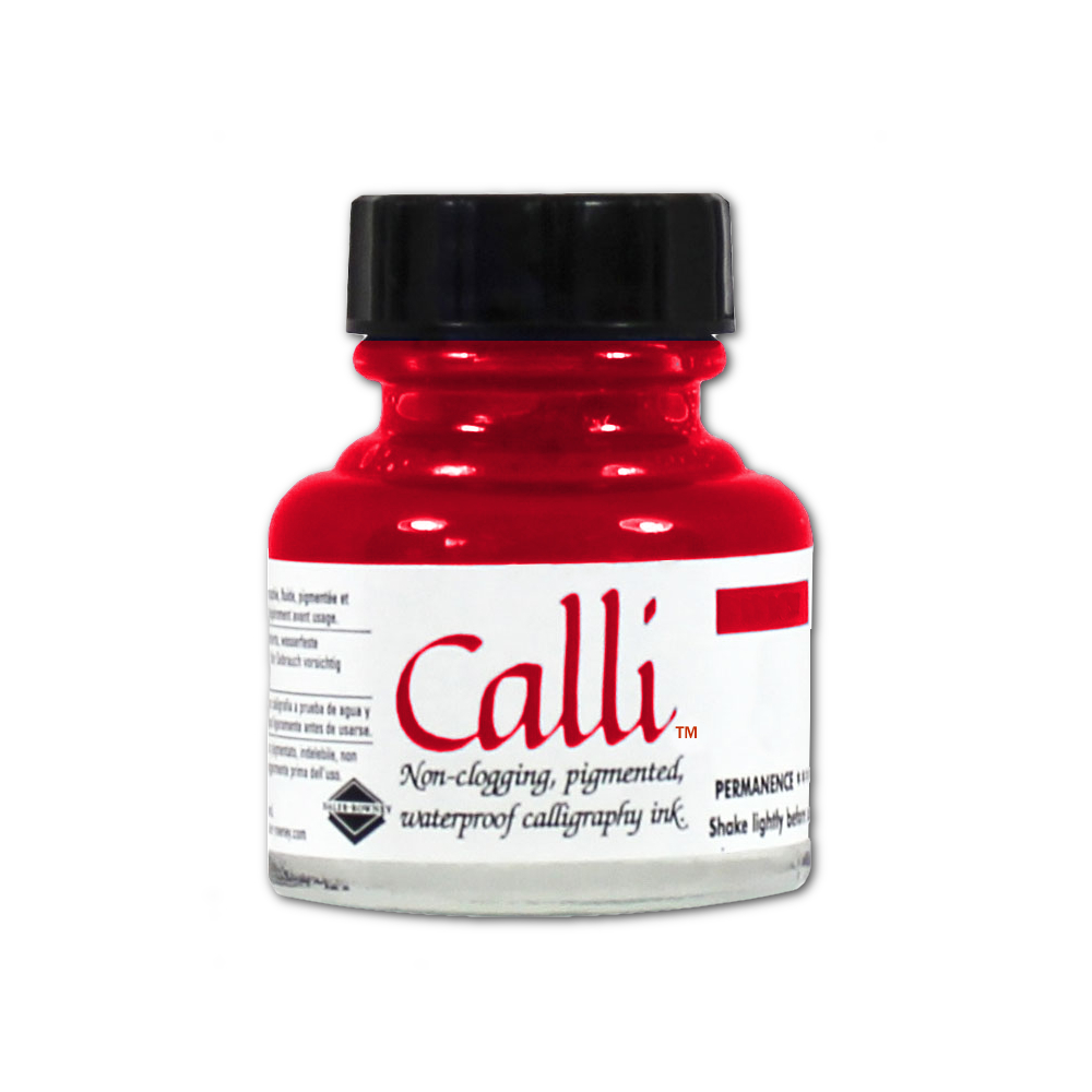 Calli Calligraphy Ink 1 Oz Scarlet