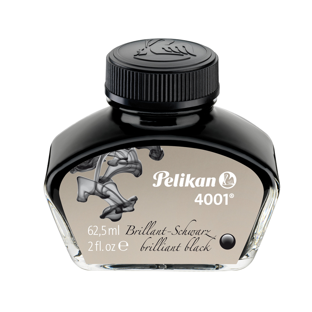 Pelikan 4001 Ink Brilliant Black 62.5Ml/2 Oz