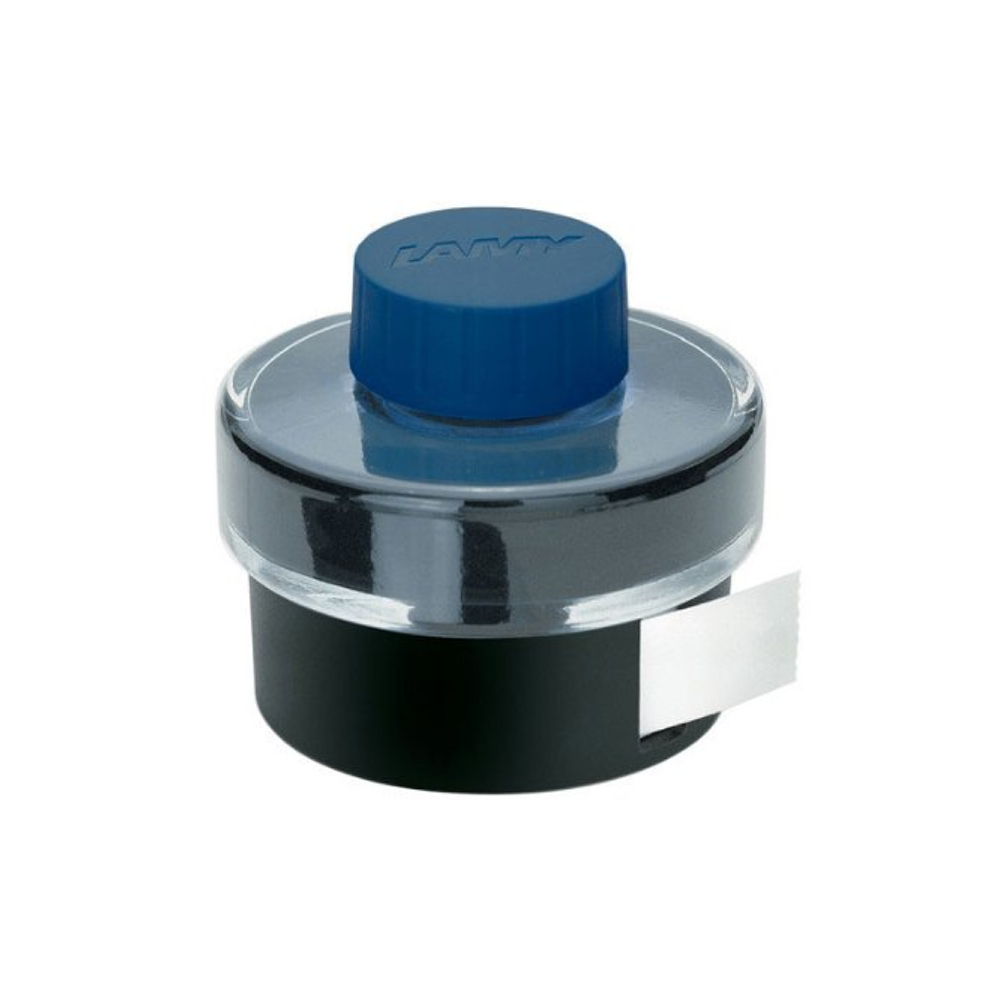 Lamy Bottled Ink 50Ml Blue W/Blotting Paper