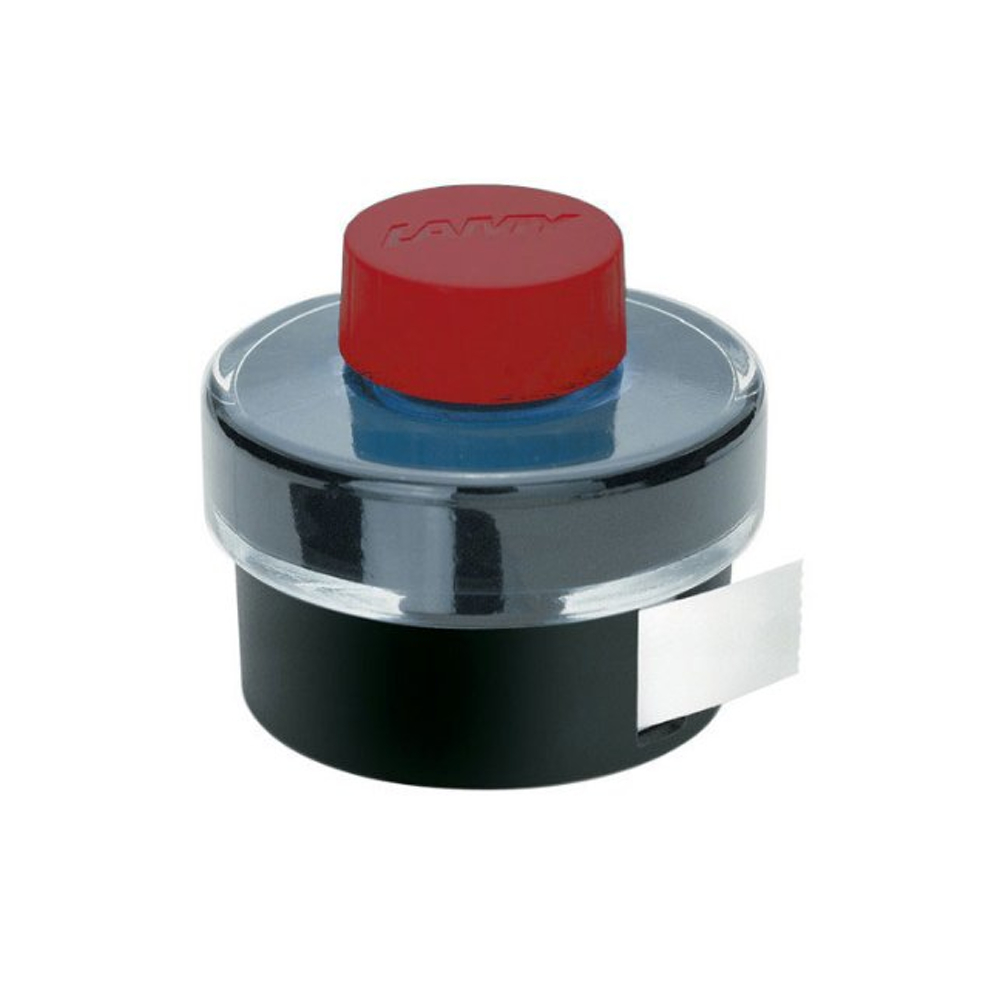 Lamy Bottled Ink 50Ml Red W/Blotting Paper