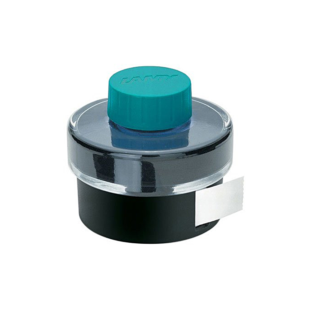 Lamy Bottled Ink 50Ml Turq W/Blotting Paper