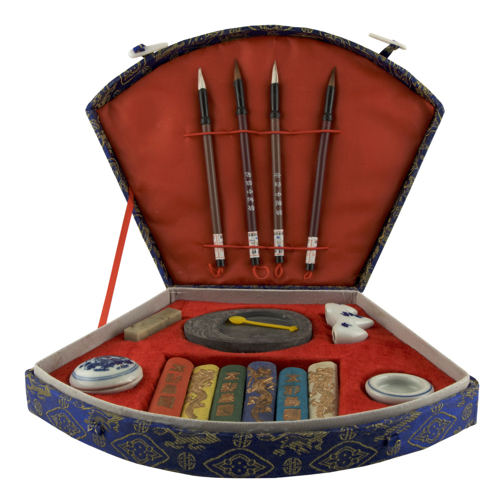 Sumi-E Calligraphy Complete Set 16 Pieces