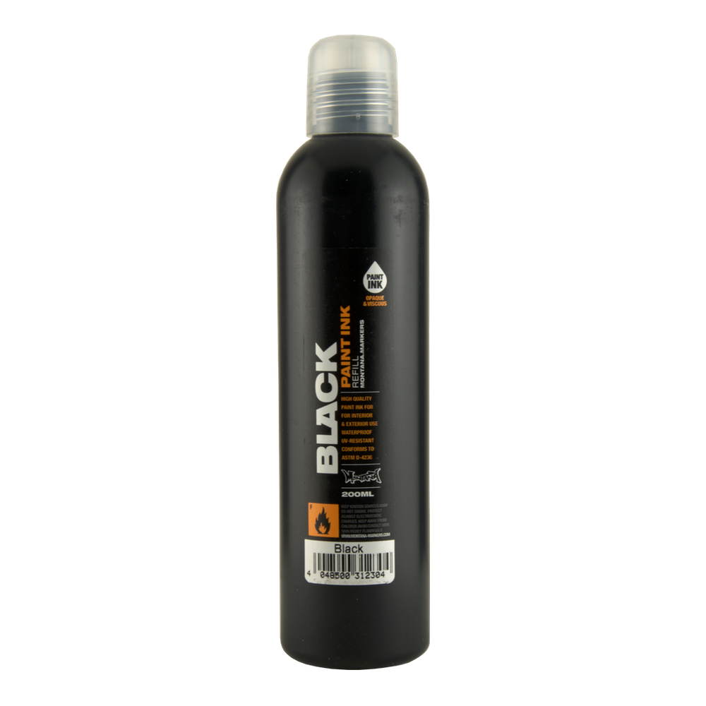 Montana Black Paint 200Ml Black