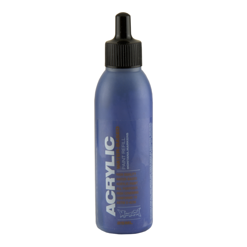 Montana Acryl Paint Refill 25Ml Blue Dark