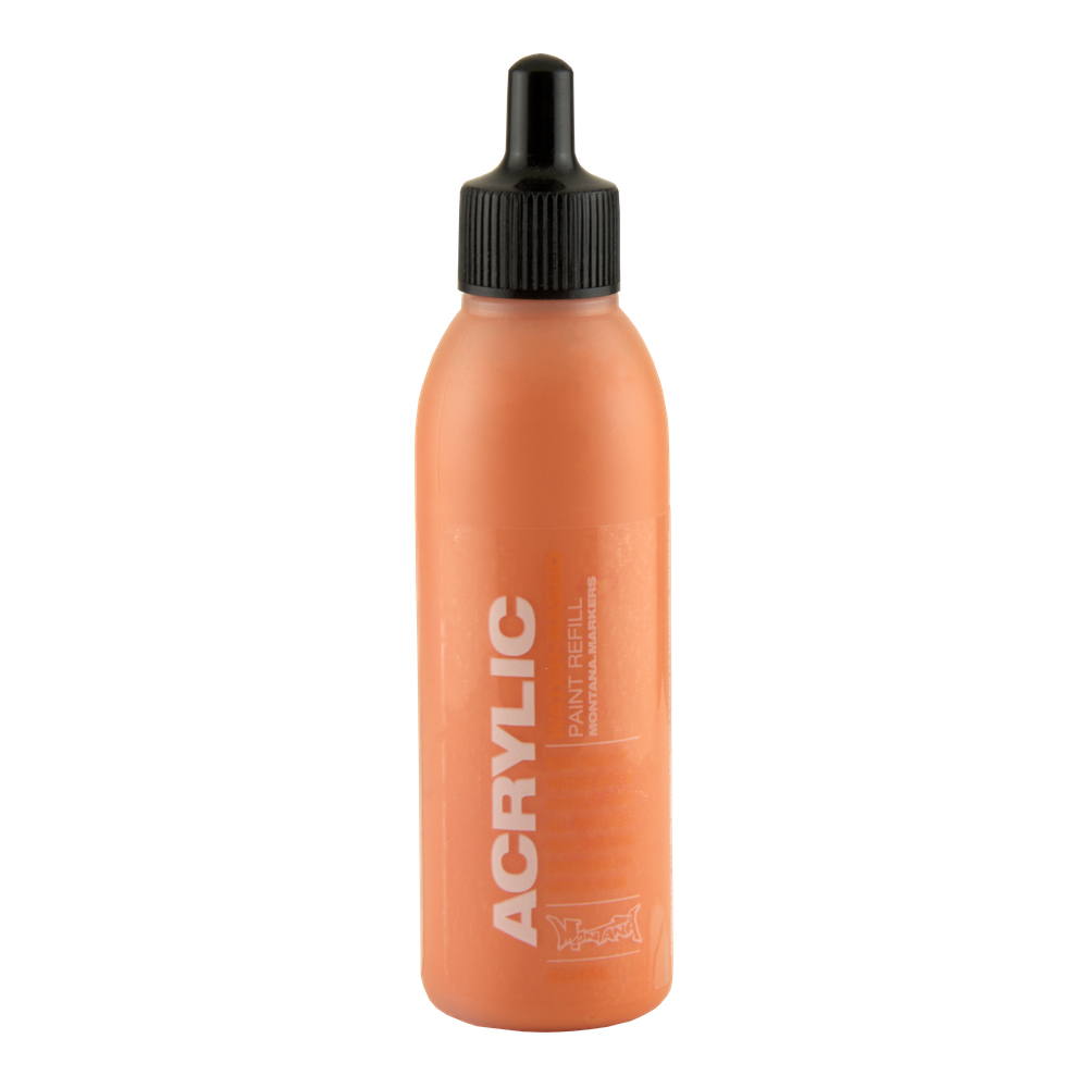 Montana Acryl Paint Refill 25Ml Orange