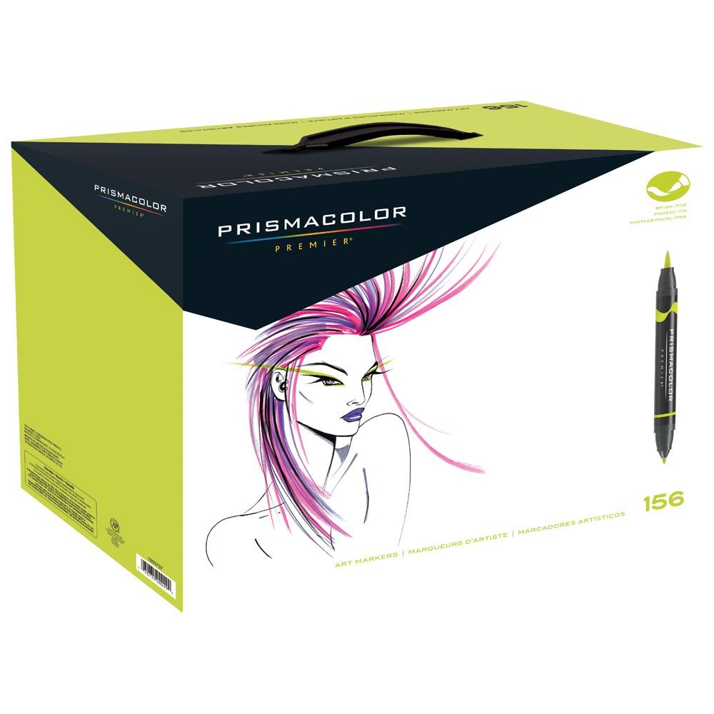 Prismacolor Brush Marker Set/156 Colors