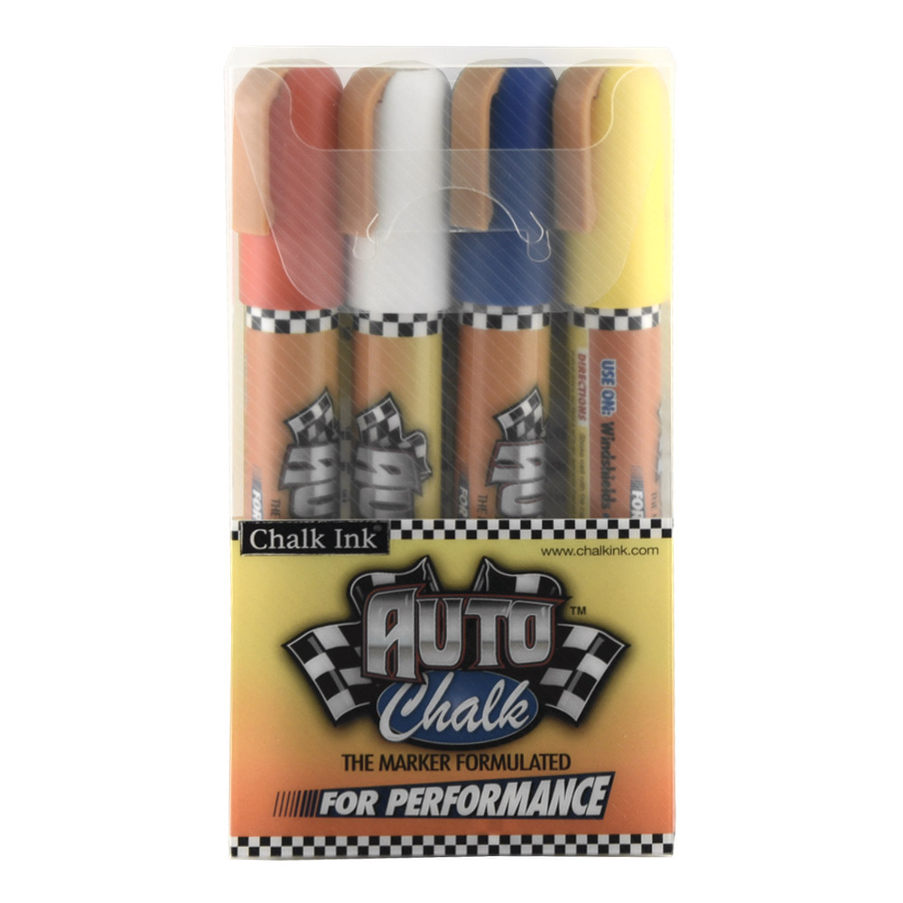 Chalk Ink Artista Pro Marker Auto Chalk Set/4
