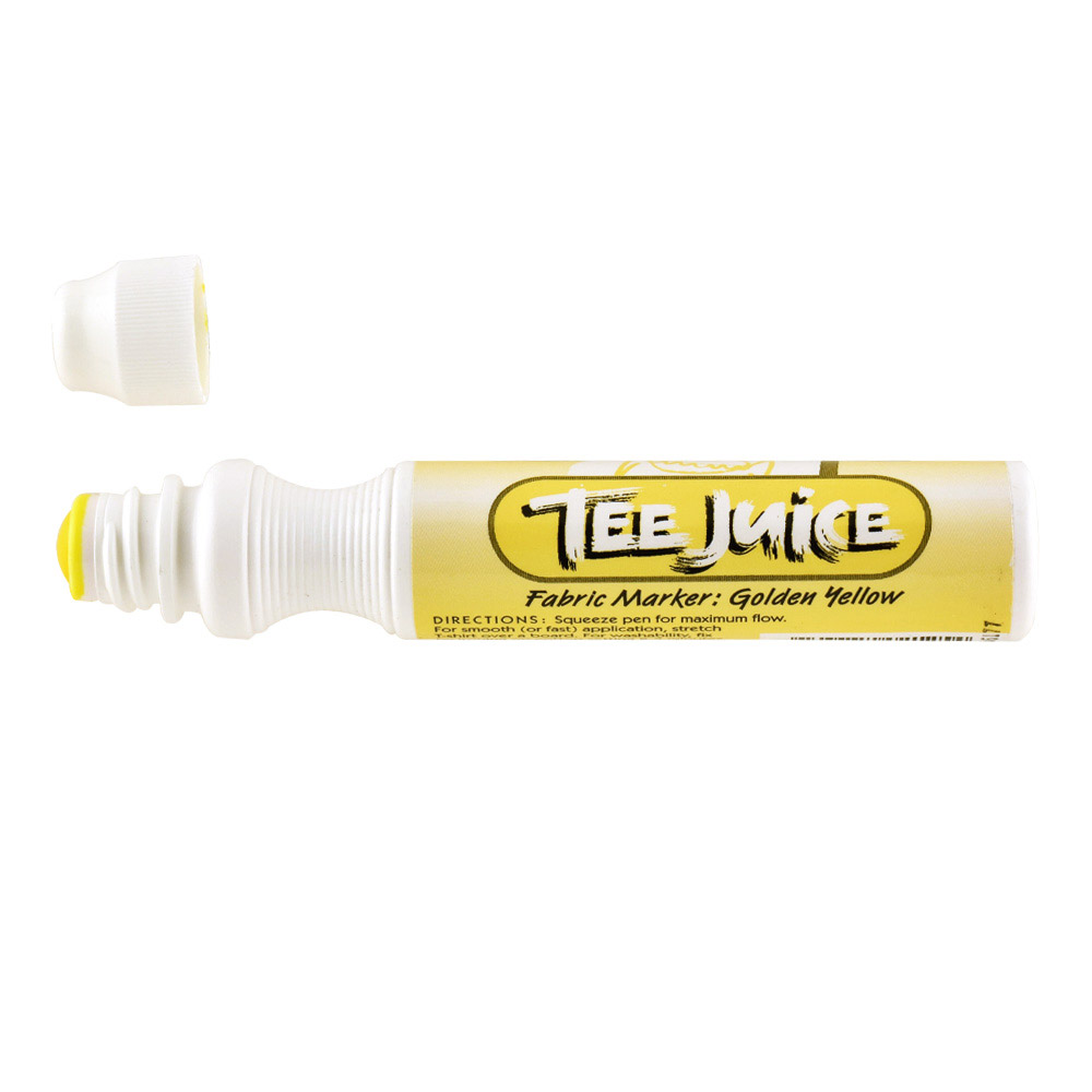 Tee Juice Marker Broad Tip Yellow