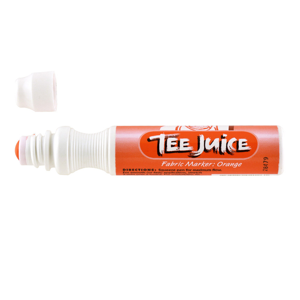 Tee Juice Marker Broad Tip Orange
