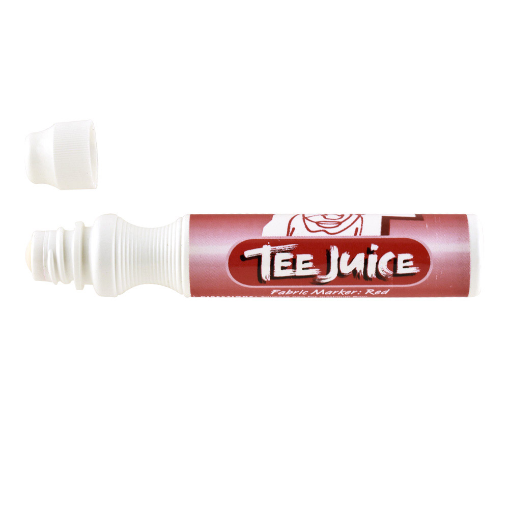 Tee Juice Marker Broad Tip Red