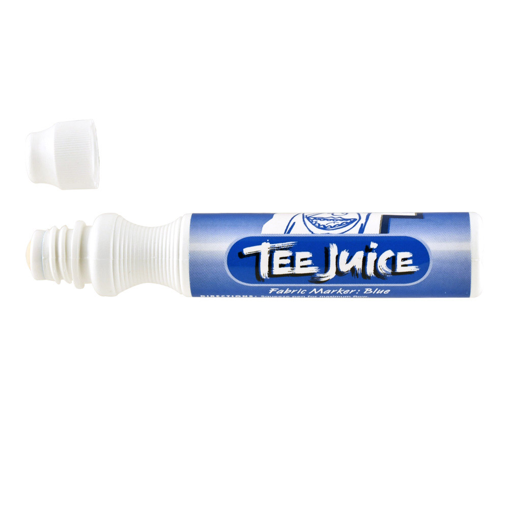 Tee Juice Marker Broad Tip Blue