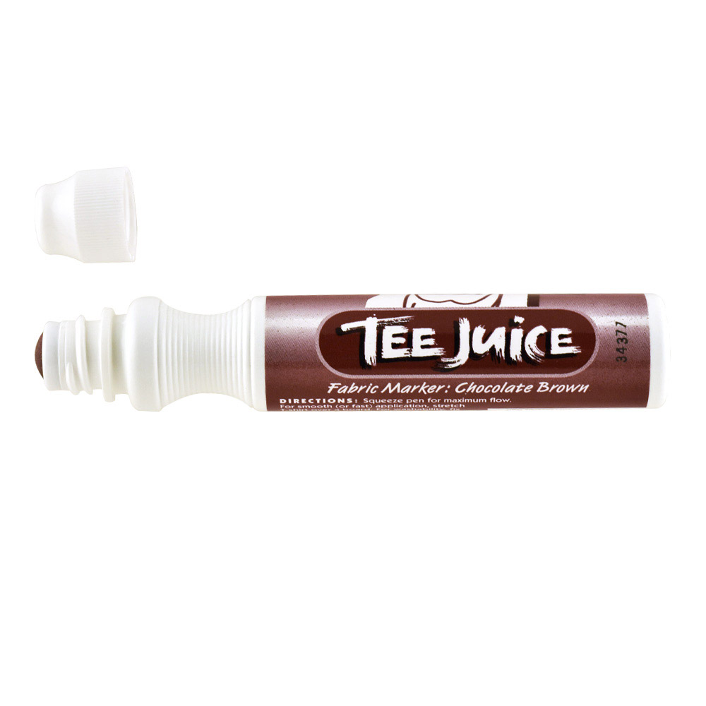 Tee Juice Marker Broad Tip Brown