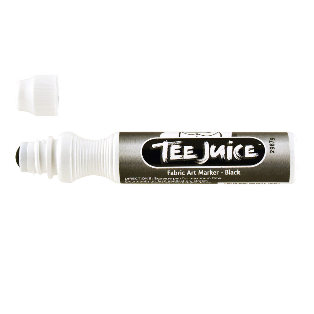 Tee Juice Marker Broad Tip Black