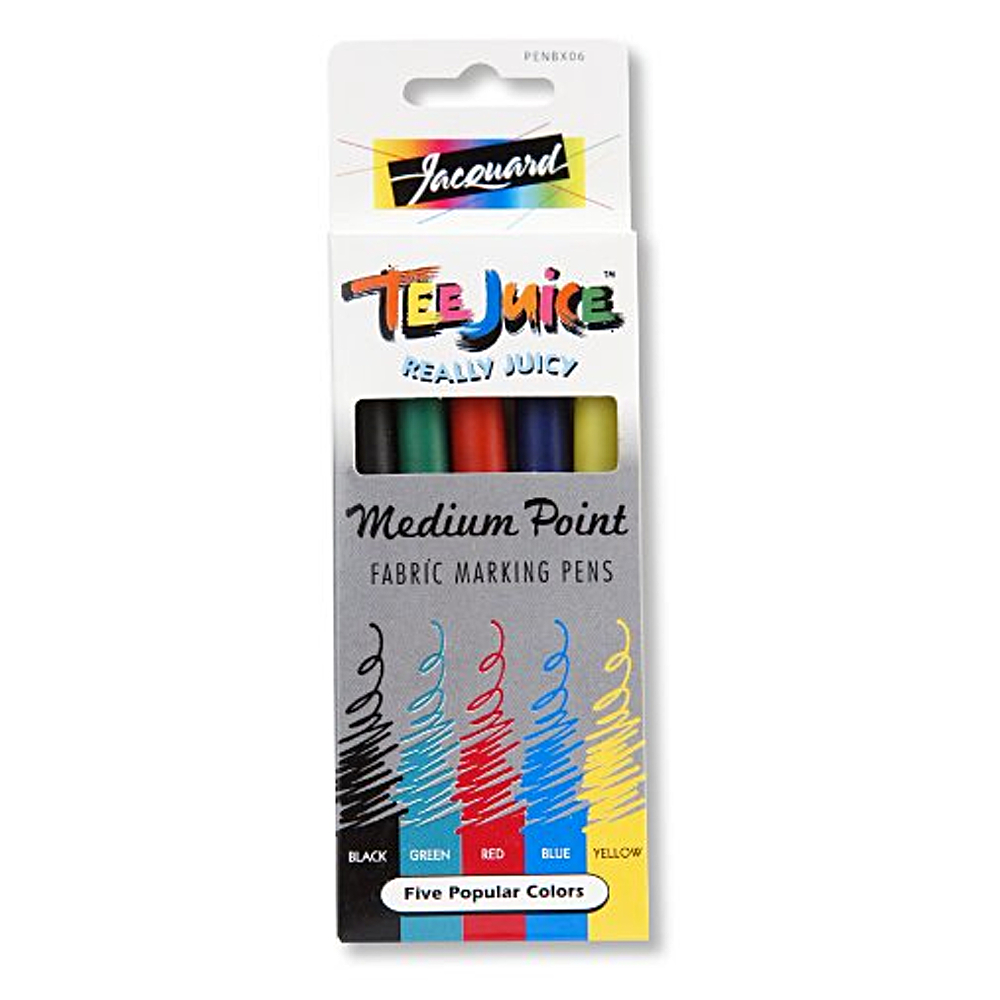 Tee Juice Medium Point Marker 5Pc Set