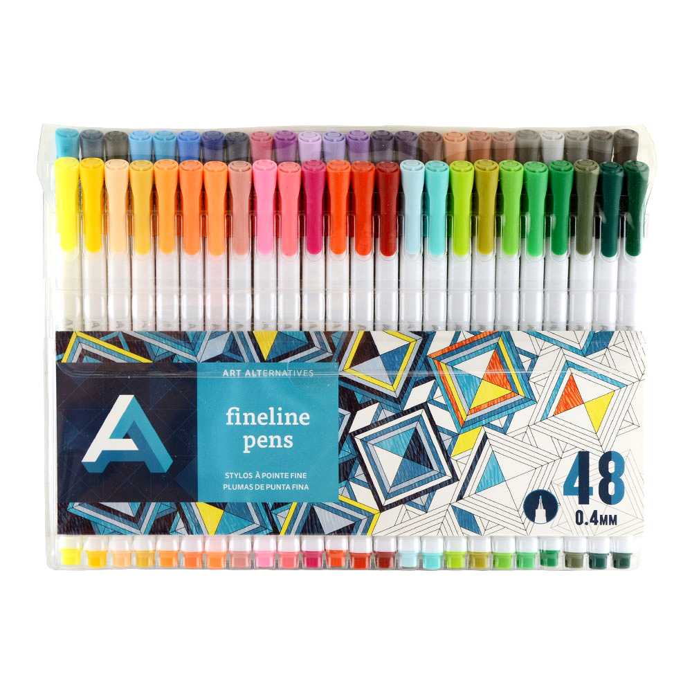Art Alternatives Fine Liner Pen Set/48