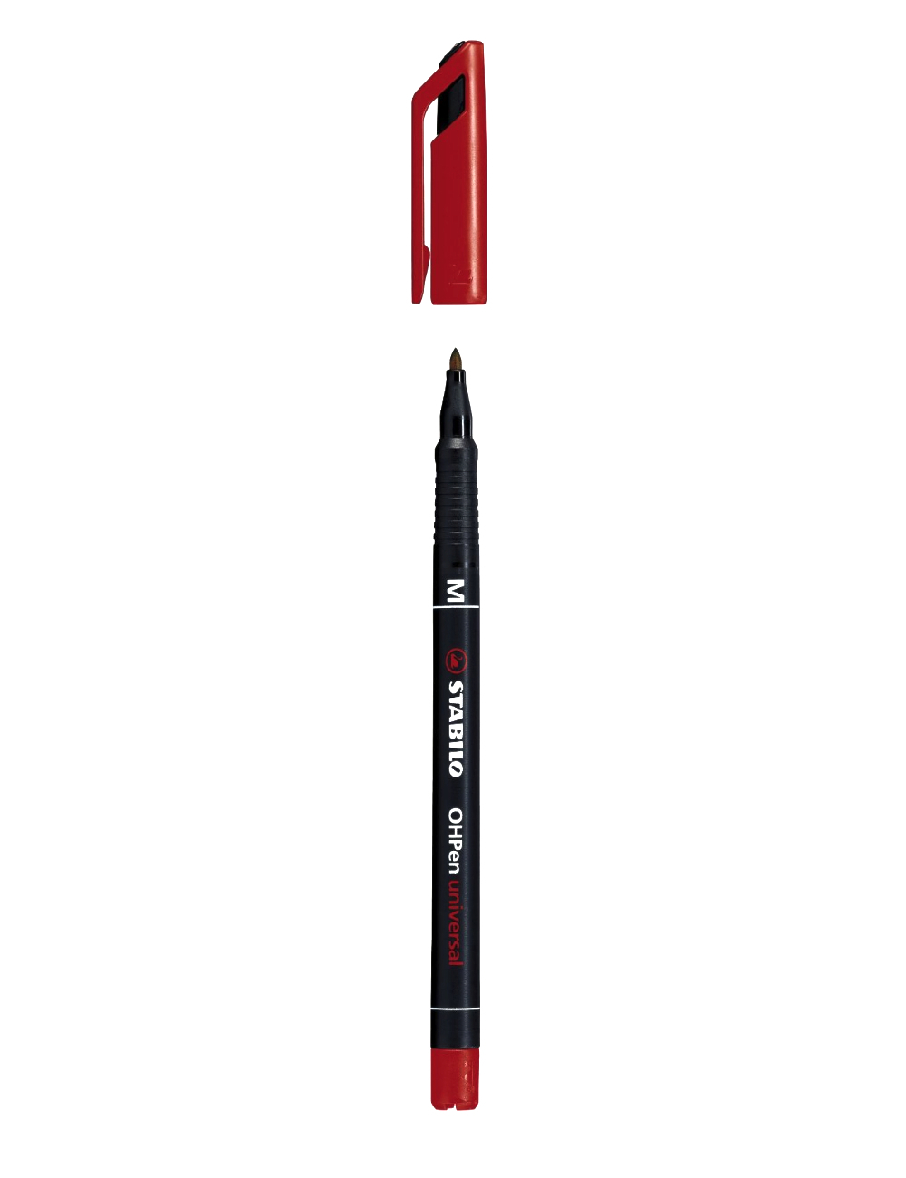 Stabilo Ohpen Permanent Medium Red